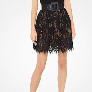 Michael Kors Lace Mini Skirt